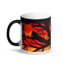 Load image into Gallery viewer, Spooky Tree Matte Black Magic 11oz Coffee Mug