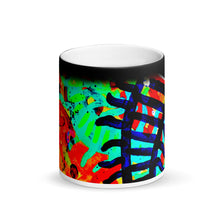 Load image into Gallery viewer, Abstract Track's Matte Black Magic 11oz Coffee Mug