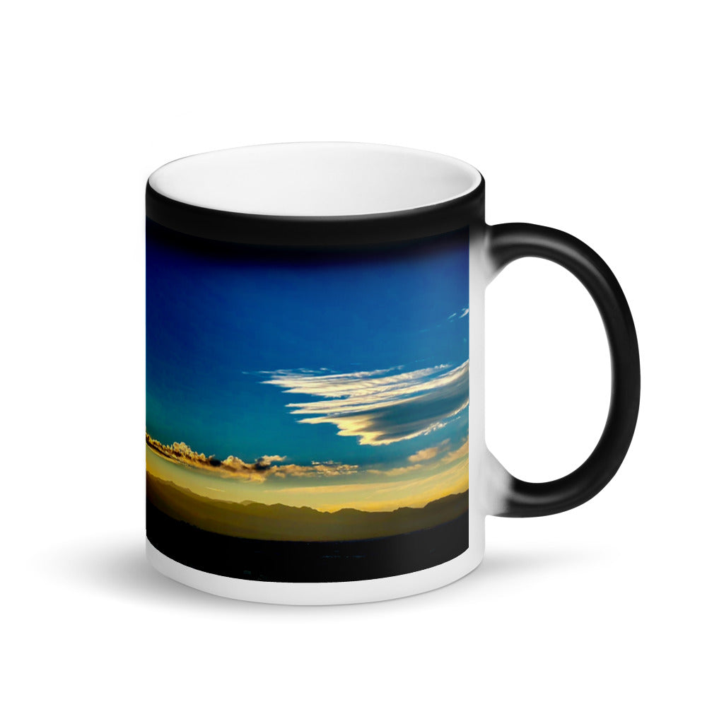 Blue Sky Sunset 11oz Matte Coffee Mug