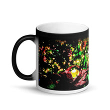 Load image into Gallery viewer, Merry Christmas Matte Black Magic 11oz Coffee Mug