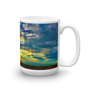 Sunset Mountain Vista 15oz Coffee Mug