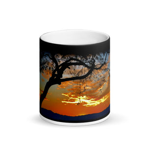Calico Ridge Sunset Coffee Matte Mug