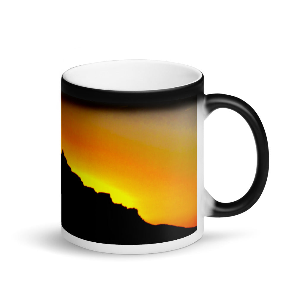 Moab Sunset Matte Coffee Mug