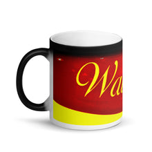 Load image into Gallery viewer, Waikiki Matte Black Magic 11oz Coffee Mug