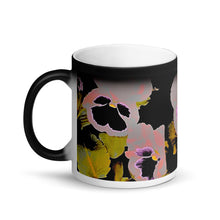 Load image into Gallery viewer, Pansy's Revolution Matte Black Magic 11oz Coffee  Mug