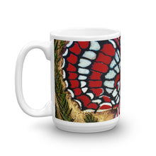 Load image into Gallery viewer, Red Butterfly 15oz Coffee Mug