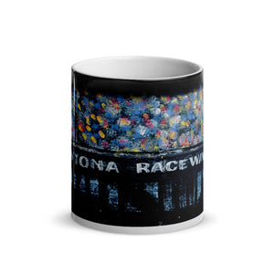 Daytona Grandstand Glossy Magic 11oz Coffee Mug