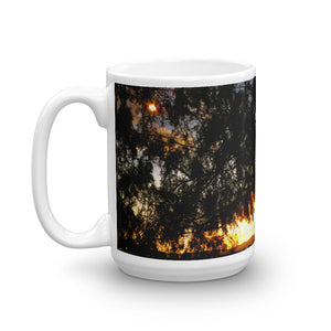 Sunset Tree 15oz Coffee Mug