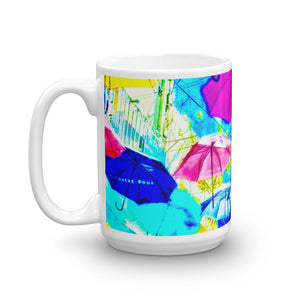 Umbrella Upside Down Coffee Mug