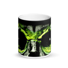 Load image into Gallery viewer, Betty Davis Eyes Matte Black Magic 11oz Coffee Mug
