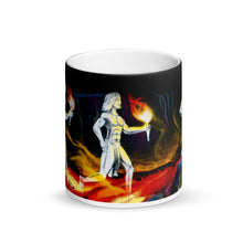 Load image into Gallery viewer, Hawaiian Warriors Running Matte 11oz Coffee Mug
