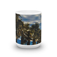 Load image into Gallery viewer, Palm Trees Glistening 15oz Coffee Mug