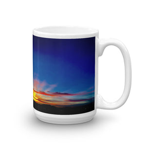 Sunset Glory Rays 15oz Coffee Mug