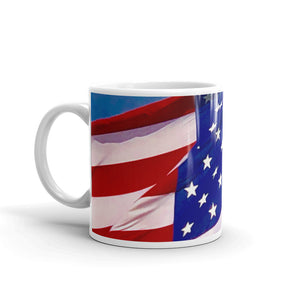 Brilliant American Flag Coffee Mug