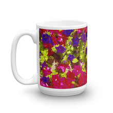 Load image into Gallery viewer, Purple Red Pansy's Coffee Mug
