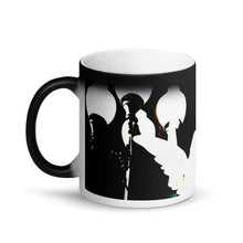 Load image into Gallery viewer, Ghost Angel Matte Black Magic 11oz Coffee Mug
