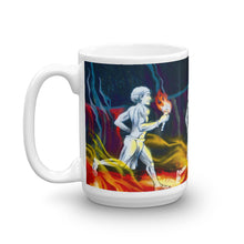 Load image into Gallery viewer, Hawaiian Warriors Running Coffee Mug