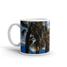 Load image into Gallery viewer, Palm Trees Glistening 11oz Coffee Mug