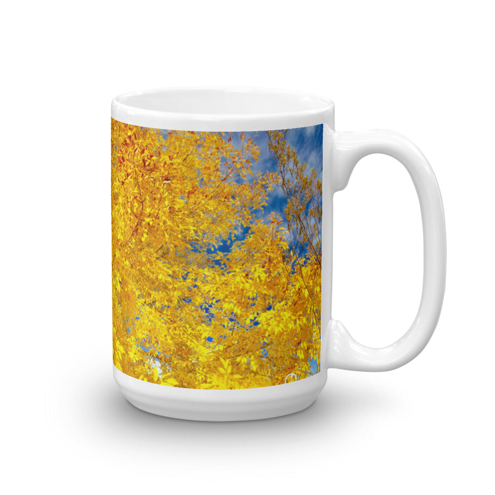 Yellow Fall Color Coffee Mug