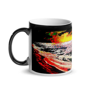 Banzai Beach Pipeline Glossy Magic 11oz Coffee Mug