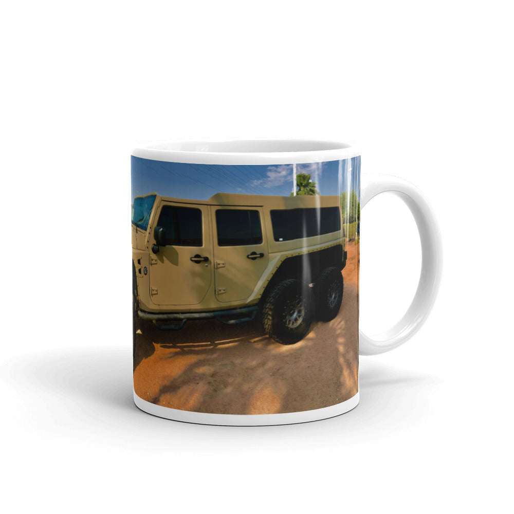 Jeep Commando Coffee Mug