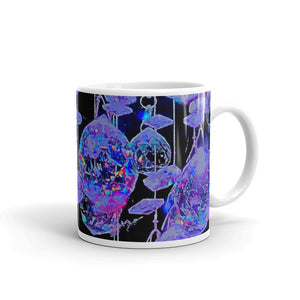 Purple Purple Crystals  Mug