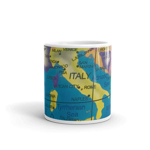 Map of Italy 11oz Coffee Mug
