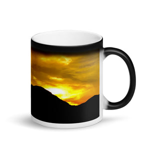 Sunrise Cafe Mountain 11oz Matte Coffee Mug