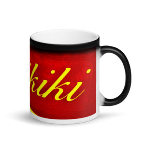 Waikiki Matte Black Magic 11oz Coffee Mug