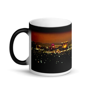 Las Vegas Skyline Sunset 11oz Matte Coffee Mug
