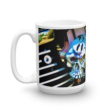 Load image into Gallery viewer, Twin V Skeleton Head Coffee Mug