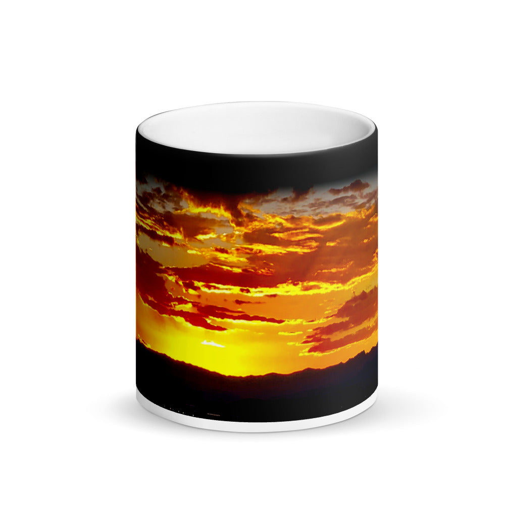Las Vegas Sunset Matte 11oz Coffee Mug