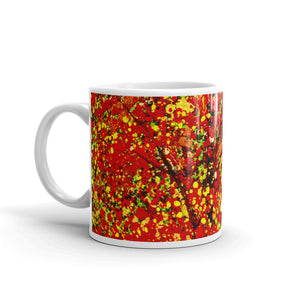 Red & Yellow Leaves Coffee Mug