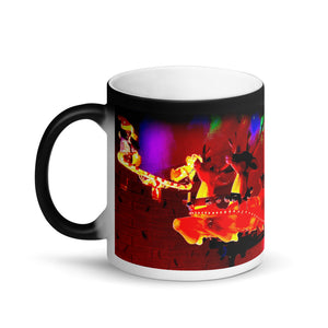 Special Delivery Matte Black Magic 11oz Coffee Mug