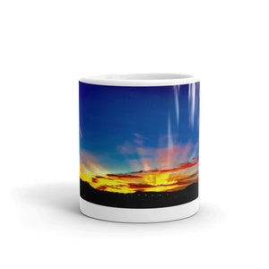 Sunset Glory Rays 11oz Coffee Mug