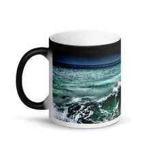 Load image into Gallery viewer, Yokohama Bay Matte Black Magic 11oz Coffee  Mug