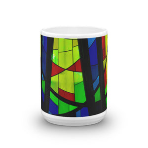 Stained Window Panes Mug