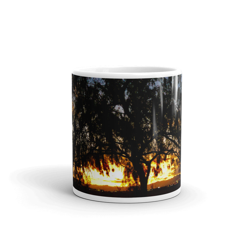 Sunset Tree 11oz Coffee Mug