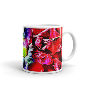 Multi Colored Pansies Mug