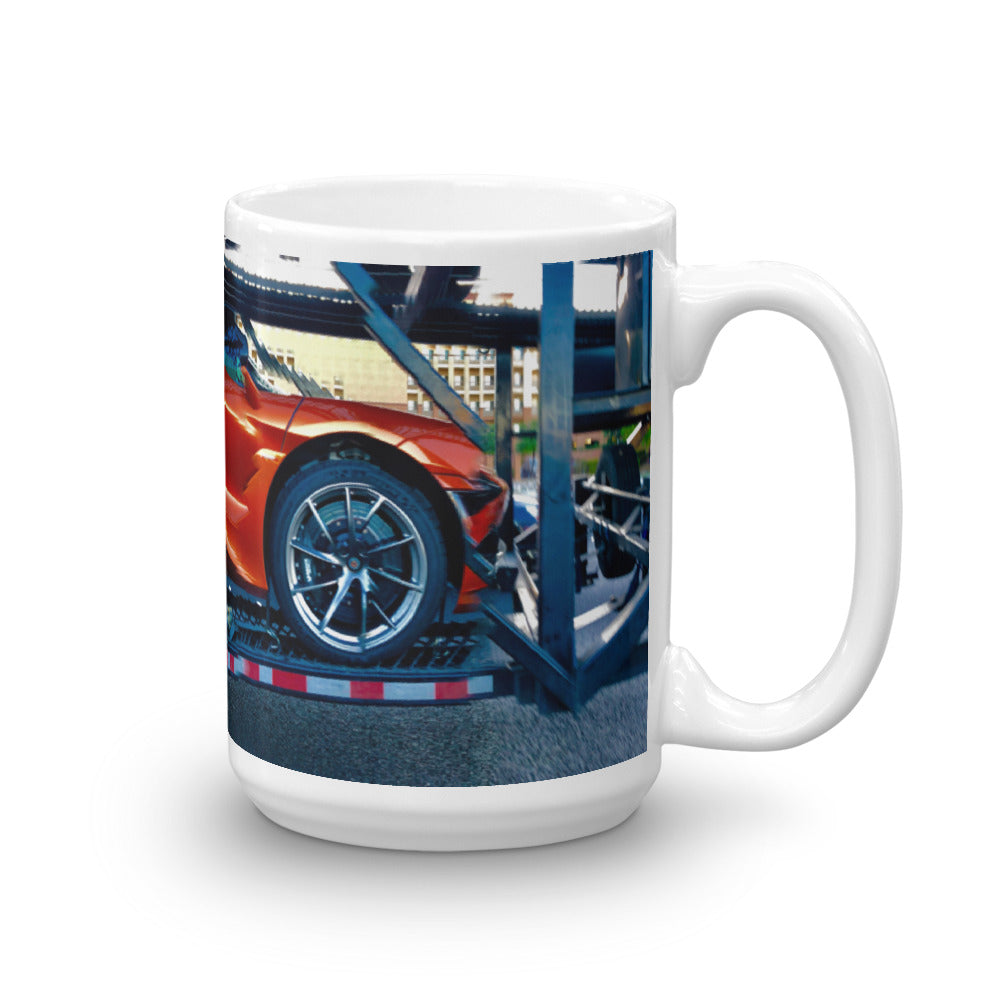Hitched A Ride 15oz Coffee Mug