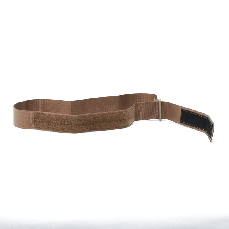 Low Profile Webbing Belt - Coyote Brown