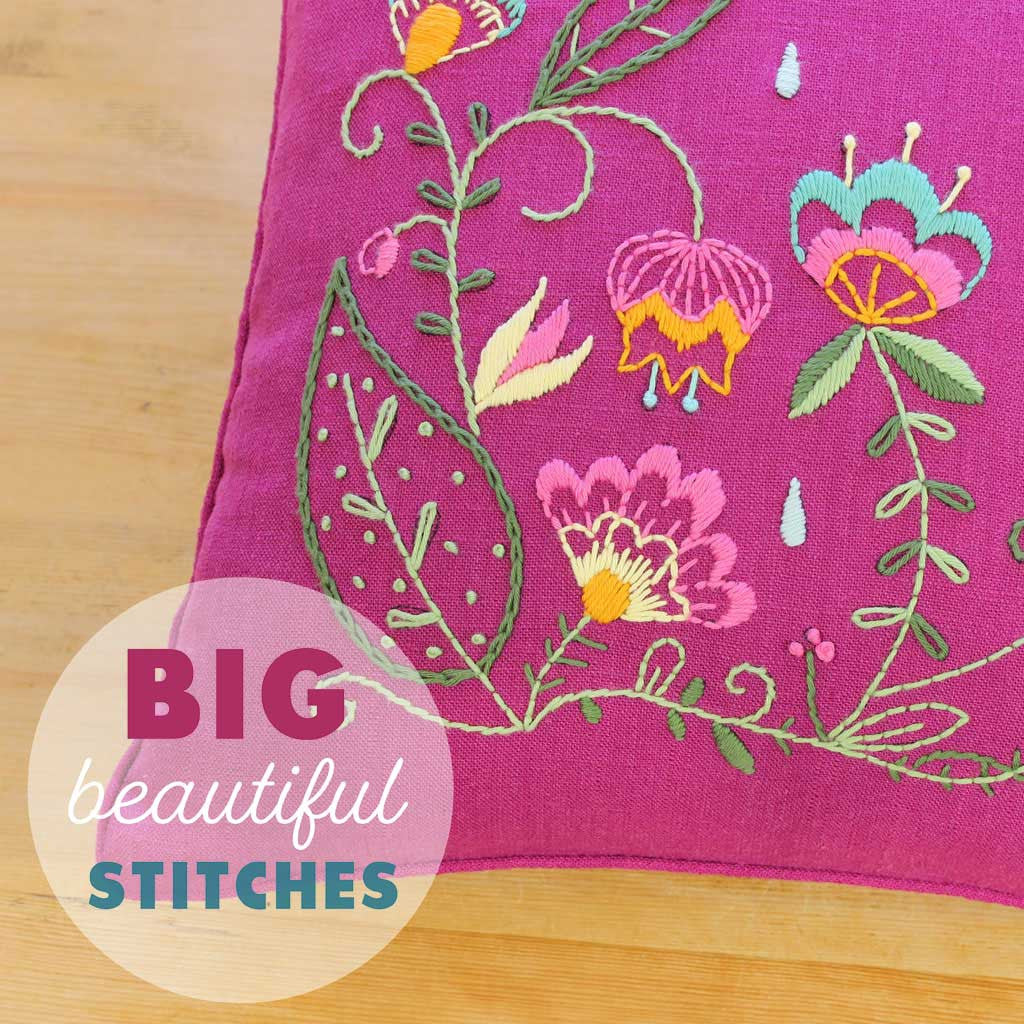 Sublime Stitching Modern Embroidery Kits