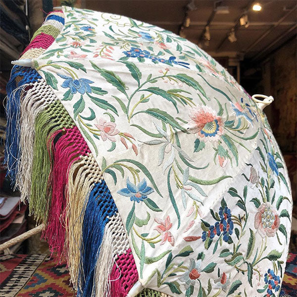 Embroidered Umbrella photo by Jenny Hart