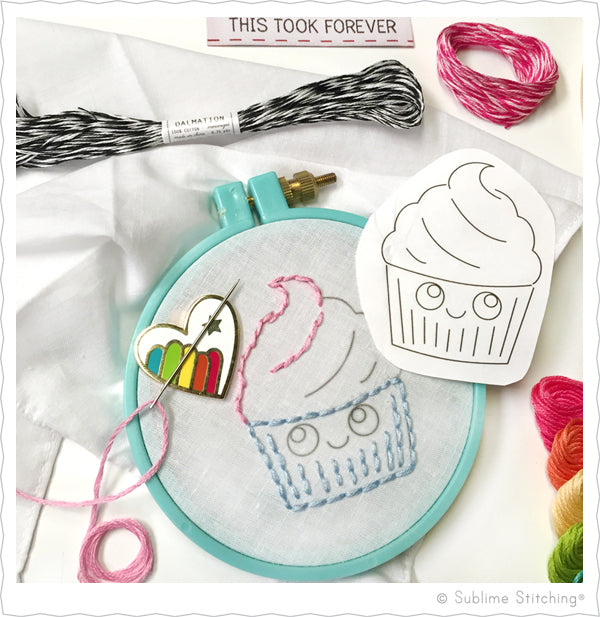 Sublime Stitching Embroidery Supplies by Jenny Hart