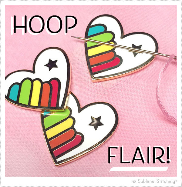 Hoop Flair™ Needle Minders from Sublime Stitching