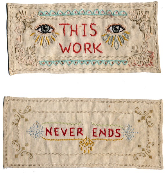 This Work Never Ends by Jenny Hart 2002