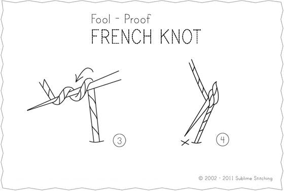Knotted Stitch How To