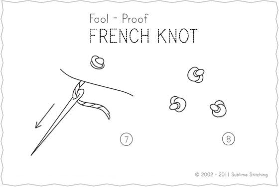 Knotted Stitch Tutorial