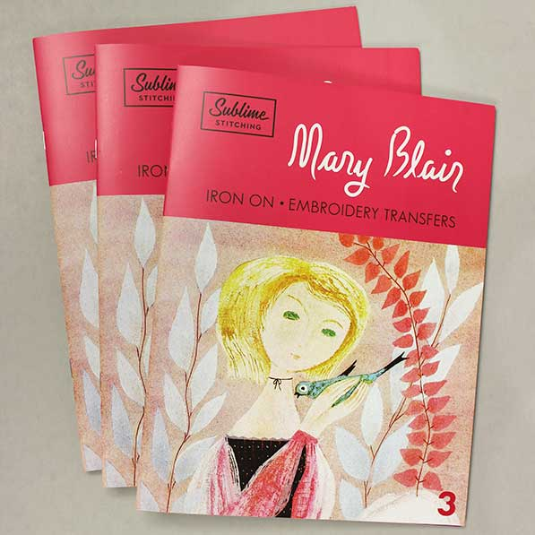 Mary Blair Embroidery Pattern Portfolio by Jenny Hart