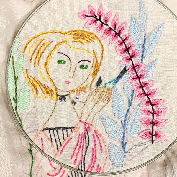 Mary Blair Embroidered by Jenny Hart